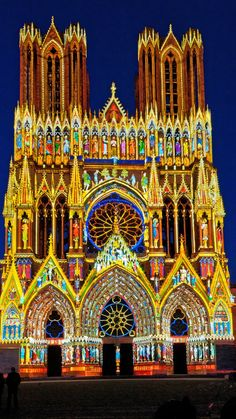 Monuments, Barcelona Cathedral, Building, Medieval Town, France Travel, Night, Buildings, Construction
