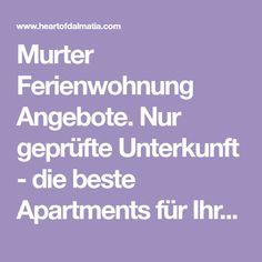 Murter Ferienwohnung Angebote. Nur geprüfte Unterkunft - die beste Apartments für Ihren Urlaub auf der Insel Murter.