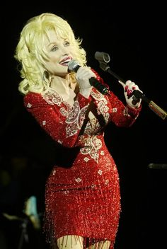 Dolly Parton.  I saw her live at the Hershey Theatre on April 23, 2008.  Fun show!
