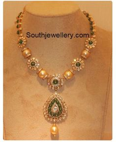Simple 20grams south sea pearls necklace