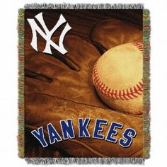 New York Yankees MLB Vintage Tapestry Throw