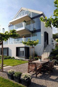 Amplia y luminosa casa en Suiza.