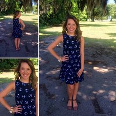 Our fabulous anchor dresses are back!!