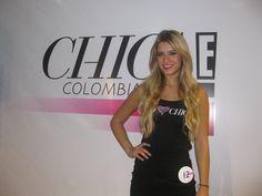 Laura Tobón en la selección de las 20 finalista de Chica E! Colombia