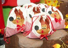 Alternativa para lembrancinha da festa de aniversário da Chapeuzinho Vermelho para menino.