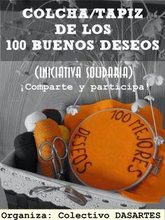 """Colectivo DASARTES: Colcha colaborativa y solidaria """"DASARTES"""" / Collaborative and solidarity quilt """"DASARTES"""""""