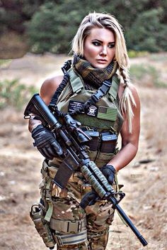 Fighter Girl Gun for women website press release . free Fighter Girl Gun for women sites in the uk Leg Hair, Military Girl, Warrior Girl, Military Women, Female Soldier, Girls Uniforms, N Girls, Badass Women, Police