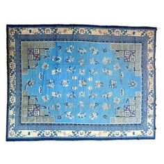 Check out this item at One Kings Lane! Chinese Peking Rug, 13'4'' x 10'1''