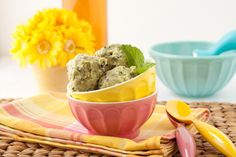 Vegan Peppermint Chocolate Chip Ice Cream