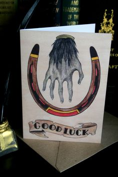 Image of 'Good Luck.'