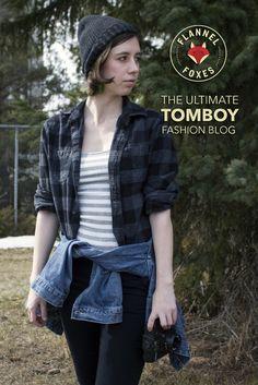 Flannel Foxes is a Tomboy Fashion blog that takes inspiration from Men's looks and recreates them for women.