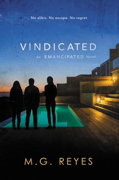 #CoverReveal Vindicated (Emancipated, #3) by M.G. Reyes