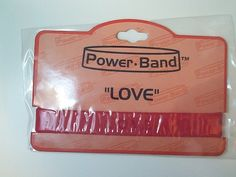 New Motivational Red Silicone Love Bracelet for Caringbridge Cause Silicone Bracelets, Love Bracelets, Giving, Candy, Red, Motivational, Ebay, Sweets, Candy Bars