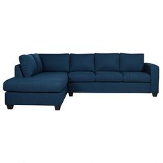 Durango Sofa Chaise in Navy from urban barn