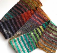 Ravelry: Flody's Noro Striped Scarf