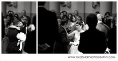 A sweet daddy/daughter moment :: Kristin+Read's Nashville wedding at the Cathedral of the Incarnation :: Photo by Glessner Photography