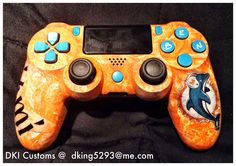 Custom PS4 Controller I painted for my friend