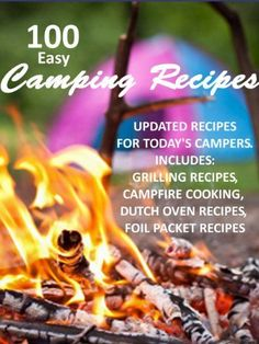 Free Kindle Book For A Limited Time : 100 Easy Camping Recipes - Preparing quick meals on camping trips is easy if you have the right recipes and ingredients. books, at home, camp recip, campfire meals, easi camp, 100 easi, camp foods, boyfriends, camping recipes