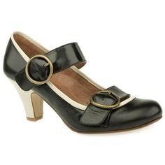 Schuh Alba Double Buckle Bar Courts Cute new round toe courts from Schuh that feature large double strap detail. Smooth leather upper with contrast colour binding. Chunky mid heel unit with a height of 7cm to finish http://www.comparestoreprices.co.uk/womens-shoes/schuh-alba-double-buckle-bar-courts.asp