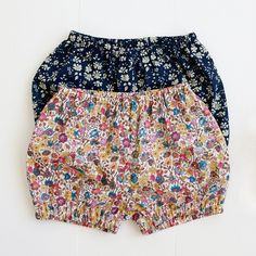 These classic bloomers and pants are sure to become a favorite wardrobe staple for any baby. They're cut higher in the back to fit over a diaper just right, and