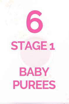 Stage 1 baby puree recipes for your baby - with single and mixed foods. Sweet potato, apple, banana, zucchini and many more...