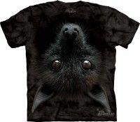bat head t-shirt - the mountain