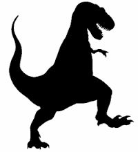 Image result for dinosaur silhouette