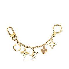 Fleur de Monogram Bag Charm Chain - - Accessories | LOUIS VUITTON M65111 $610 CAD