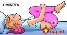 Stačí vám 1 minúta: Fyzioterapeut zostavil 4 jednoduché pohyby, vďaka ktorým budete spať celú noc ako bábätko!