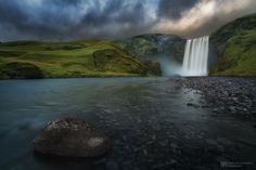 Skógafoss by Alex Lauterbach on 500px  )