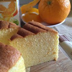 My Mind Patch: Orange Peel Chiffon Cake 橙衣威风蛋糕