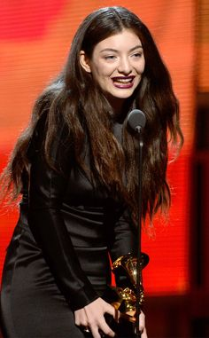 The young singer won her first Grammy at the age of 17!MORE PHOTOS: Craziest Grammys looks ever