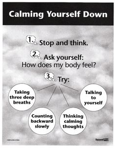 Steps to Self-Calming - Second Step Curriculum - Socio-Emotional Psycho-Education
