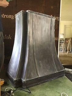 Zinc Range-hood, La Cornue Range Hoods,Fan Included, All Custom Sizes, Metals