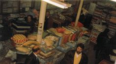 Interior botiga Plaça Universitat, decada dels 70