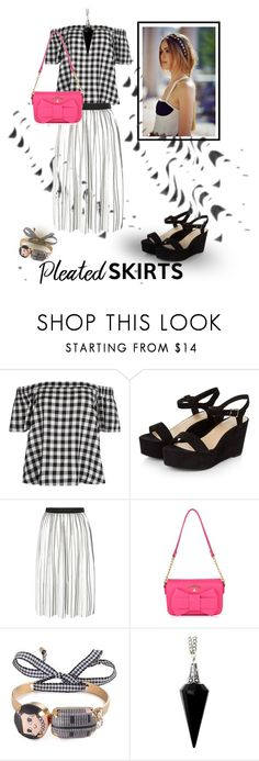 """""""Pleats, please"""" by gagenna ❤ liked on Polyvore featuring New Look, Marni, BlackMoon, viviennewestwood, pleatedskirts, CocoChanel, newlook and polyvorecontest"""
