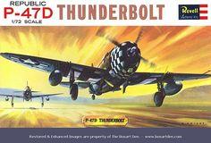 Revell P-47D Thunderbolt 1-72 '60's