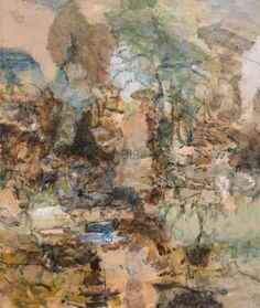 Karl Pilato, Black's Canyon, 64 x 54 in., oil on canvas, 2012