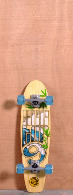 """Sector 9 28.5"""" Soup Bowls Bamboo Longboard Complete"""