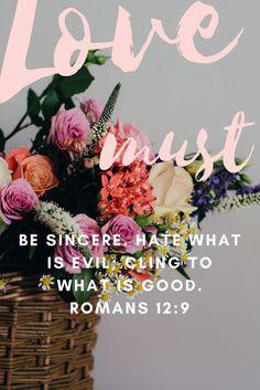 Romans 12:9 Bible verses