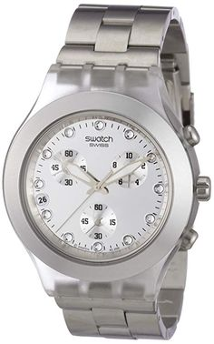 Swatch Diaphane Chronograph Blooded Silver Mens Watch SVCK4038G Swatch  watch  swatchwatch  swatch Órák a6847ee02d
