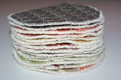 Coussinets d'Allaitement lavables en Coton Bio : Puériculture par kumoandfriends.