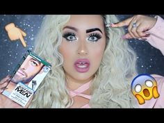 BEST PERMANENT BROW HACK EVER!! NO MORE BROW MAKEUP - YouTube