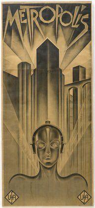Schulz-Neudamm, Affiche pour Metropolis 1926