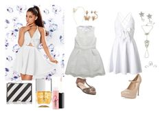 """Ariana Grande mother daughter set"" by minicelebfashion on Polyvore featuring Lipsy, New Look, MAC Cosmetics, Monsoon and LC Lauren Conrad"