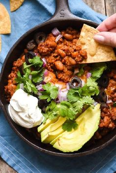 Meaty Enchilada Chili Dip Make sure to follow cause we post alot of food recipes and DIY  we post Food and drinks  gifts animals and pets and sometimes art and of course Diy and crafts films  music  garden  hair and beauty and make up  health and fitness and yes we do post women's fashion sometimes  and even wedding ideas  travel and sport  science and nature  products and photography  outdoors and indoors  men's fashion too  postersand illustration  funny and humor and even home doctors…