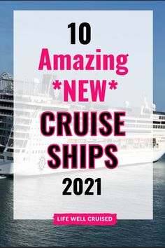 Planning a cruise in 2021 or 2022? Find out which new cruise ship is best for you!! All major cruise lines and big and small cruise ships! Cruise Packing Tips, Best Cruise Ships, Cruise Outfits, Cruise Vacation, First Time, Good News, How To Plan, Big, Cruise Fashion