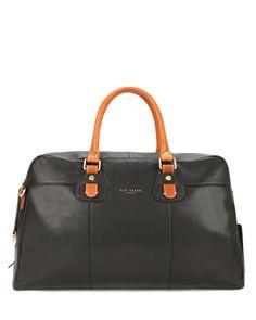b7d4f1d5fad Leather document bag - Black