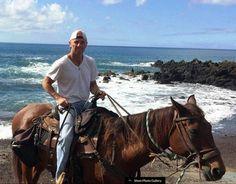 I want to go horseback riding with Kenny.