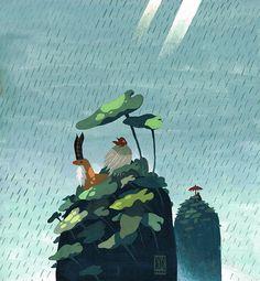 Mononoke by Duque Yvan #illustration #art